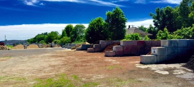 bark mulch, landscape materials