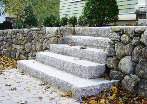 Granite, Residential, Stone steps, Custom Stone fabrication, Gleason Ineson Stone Suppliers, G.I. Stone, GI Stone, G/I Stone, New Hampshire stone, Massachusetts stone, Maine stone, Connecticut stone, Rhode Island stone, Vermont stone, New Hampshire granite, Massachusetts granite, Maine granite, Connecticut granite, Rhode Island granite, Vermont granite, Granite, Custom granite, Granite step, Stone, Stone patios, Stone driveway, Stone walkway, Natural stone, Concrete pavers, Building stone, Stone veneer, Wall stone, Veneer, Thin stone veneer, Retaining walls, Blue stone, Clay brick , Granite benches, Granite mantel, Granite post, Granite mailbox, Granite light post, Cobble stone, Cobbles, Granite edging, Granite hearths, Granite treads, Bluestone treads, Granite pavers, Pavers, River rock, Veneer, Natural stone flagging, New England field stone, Field stone, Round field stone, Granite pool coping, Bluestone pool coping, Outdoor stone fireplace, Stone fire pit, Indoor stone fireplace, Stone hearth, Granite hearth, Igneous rock, Concrete sand, Stone dust, ¾ crushed stone, 1 ½ crushed stone, Screened loam, Bark mulch Merrimack NH, Bark mulch Nashua NH, Bark mulch Bedford NH, Bark mulch NH, drafting services, Custom Stone fabrication,