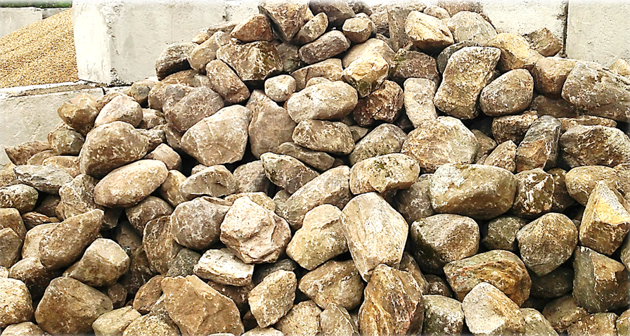 Crushed Stone Delivery : Landscape materials crushed stone